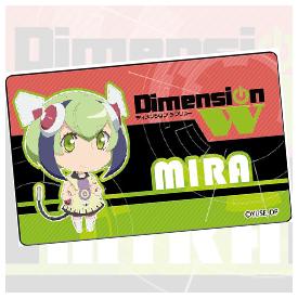 Dimension W プレートバッジ 百合崎ミラ