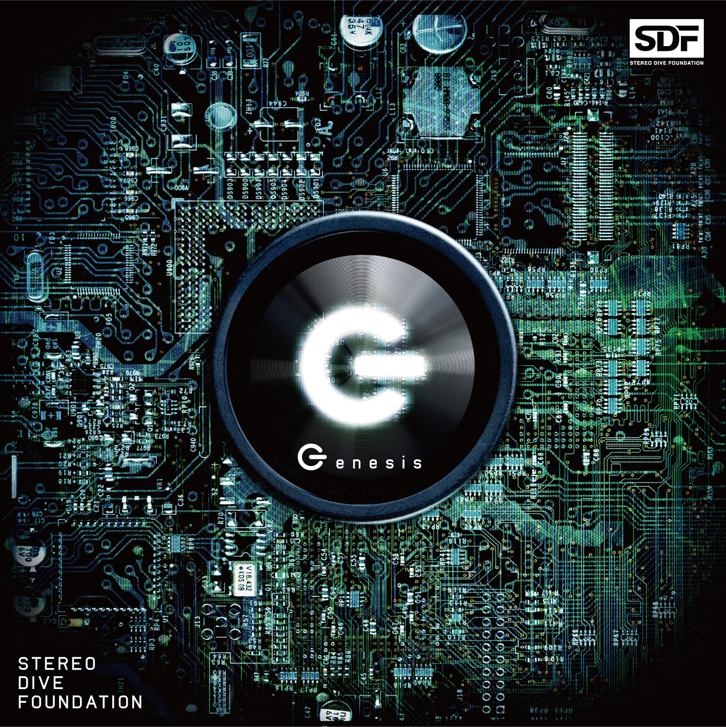 OPCD アーティスト盤「Genesis」STEREO DIVE FOUNDATION