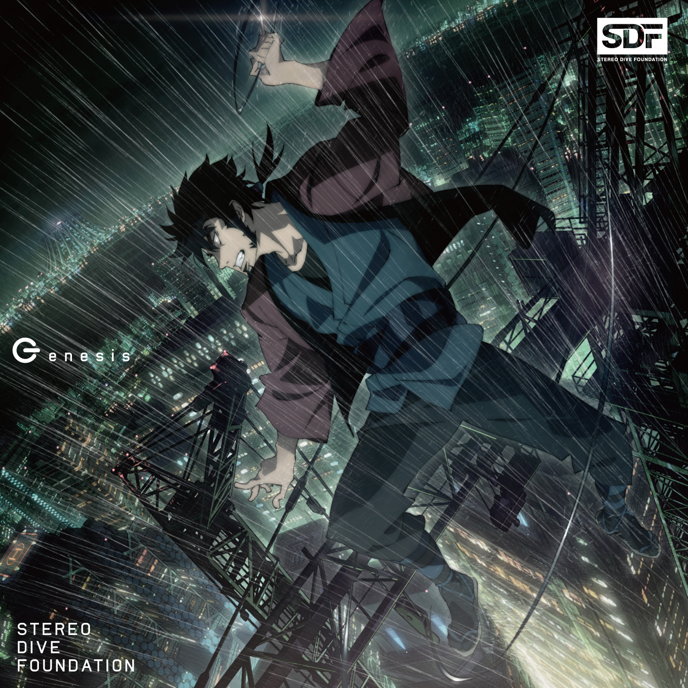 OPCD アニメ盤「Genesis」STEREO DIVE FOUNDATION